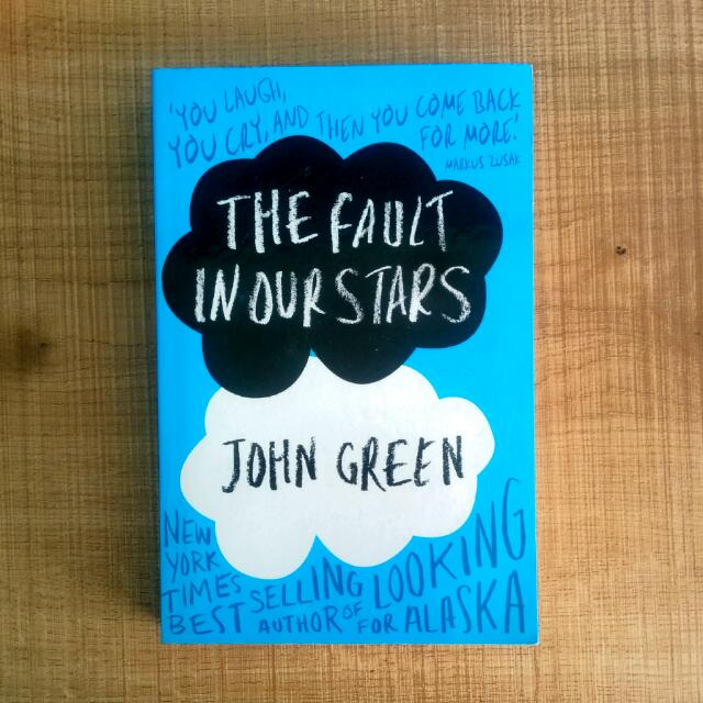 The Fault In Our Stars, John Green Book
