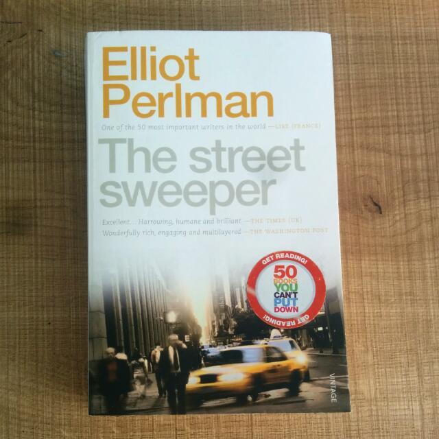 The Street Sweeper, Elliot Perlman Book