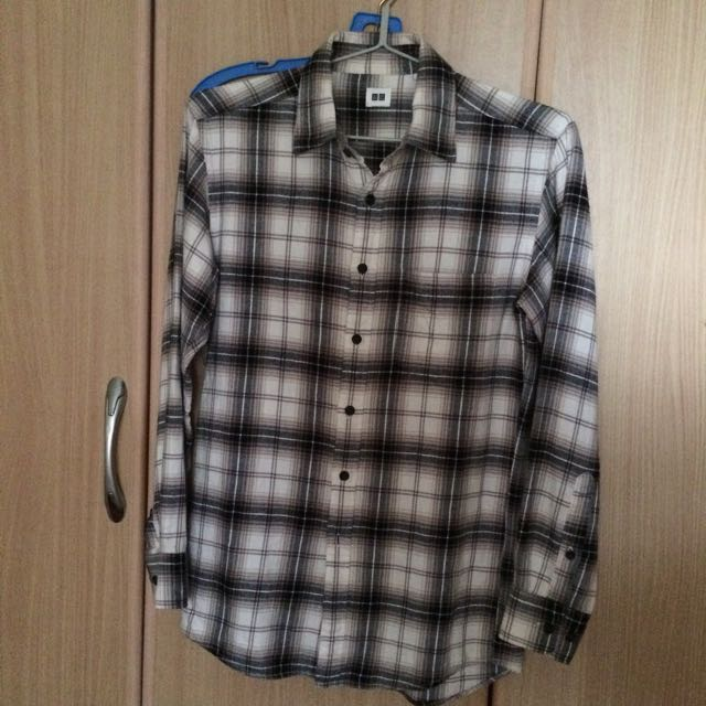 Uniqlo Flannel Long Sleeve Shirt