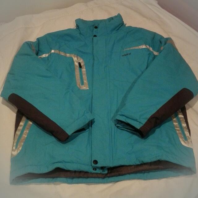 Unisex Blue Snow Jacket Puffer Jacket Size L - Men's Woman's