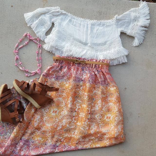 Valleygirl Brand Full-length Skirt