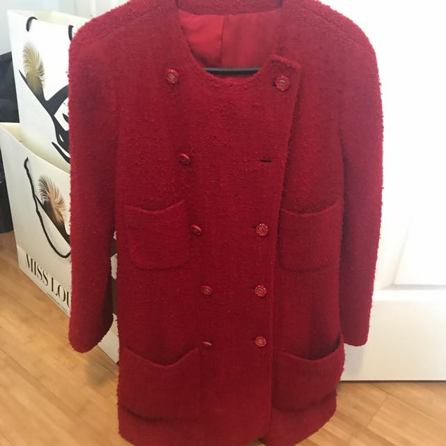 Vintage Chanel Tweed Coat