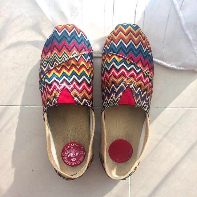 Wakai (38) Tribal Shoes