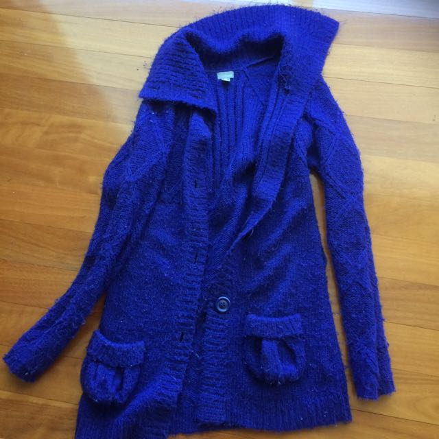 Warm Knitted Coat