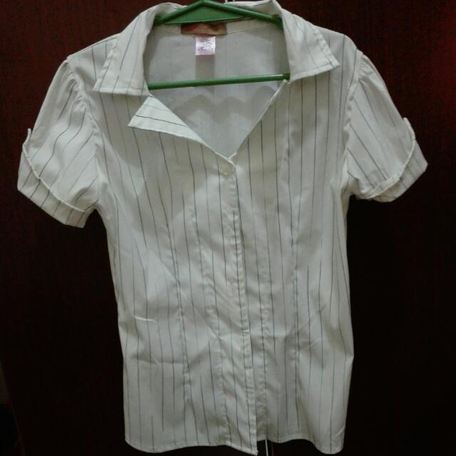 women's collar blouse