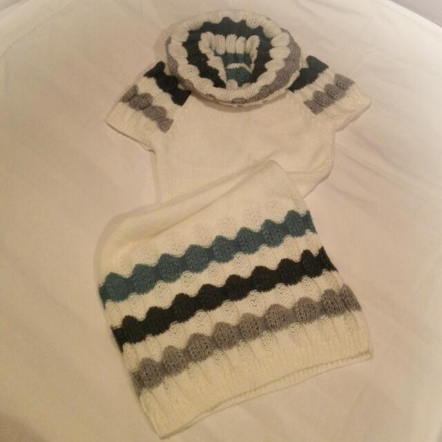 Wool Bodycon Dress Size 6-14