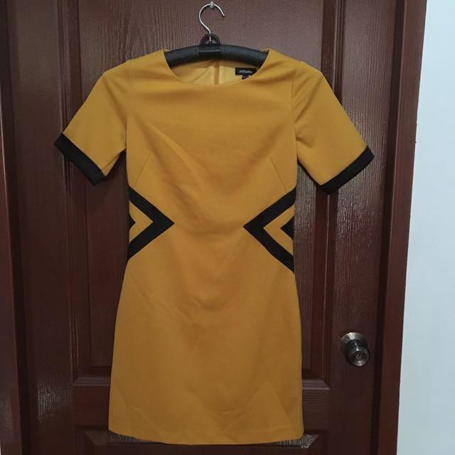 Yellow Casual Dress