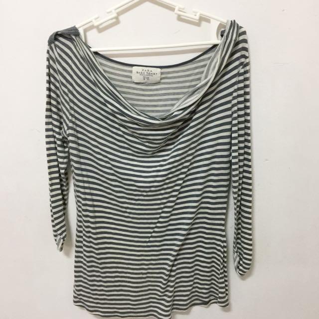 Zara Blouse Stripes (Size S)