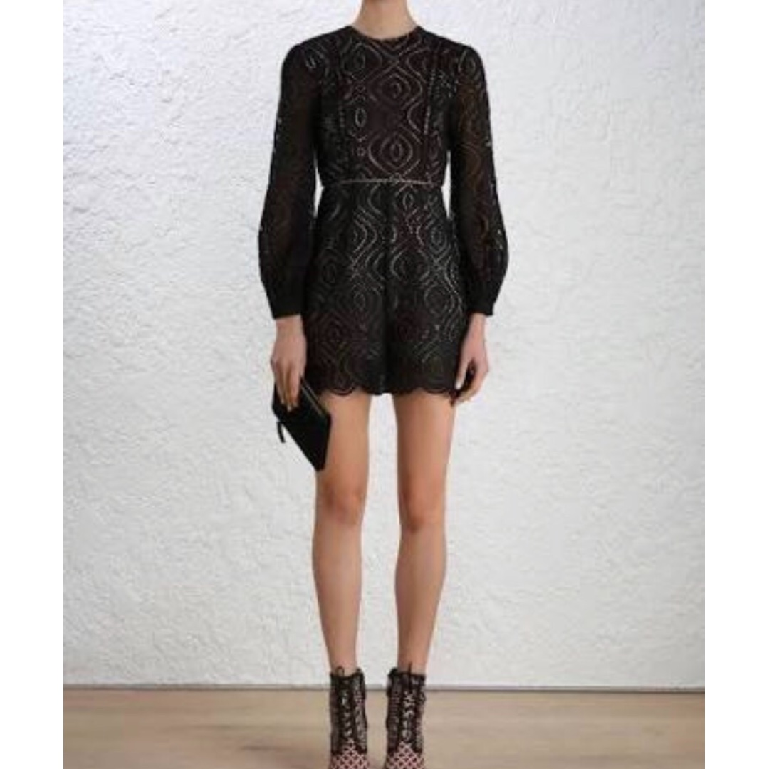 ZIMMERMANN Lavish Embroidered Playsuit - Size 1 - BNWT