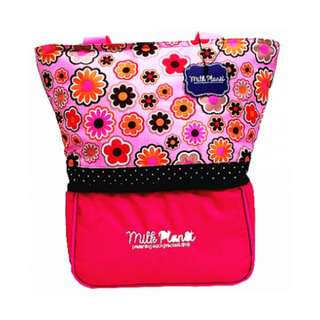 MILK PLANET - SIGNATURE COOLER BAG (PINK DAISY)
