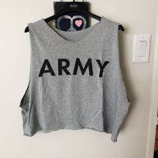 Army Muscle Tee