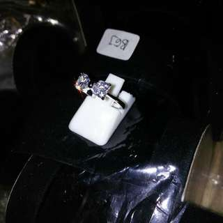 Cincin lapis emas putih 24k