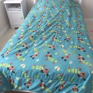 IKEA Bed And Mattress (twin)