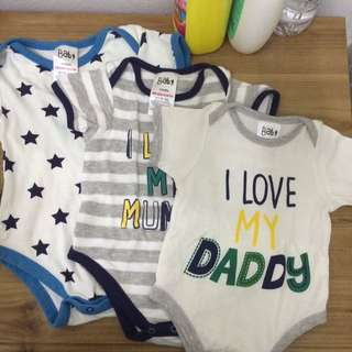 ROMPER SET from nb to 12 months