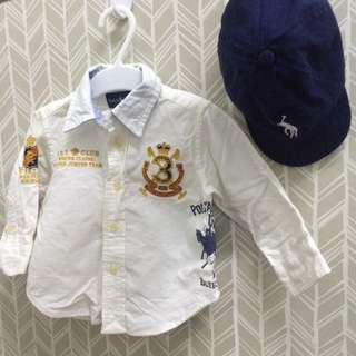authentic polo colar shirt
