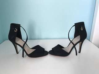 ALDO ANKLE STRAP SANDAL HIGH HEEL PUMPS SIZE 8.5