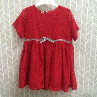 BNWT red dress