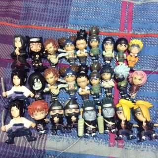 Naruto Shipudden: Small Character Collectibles