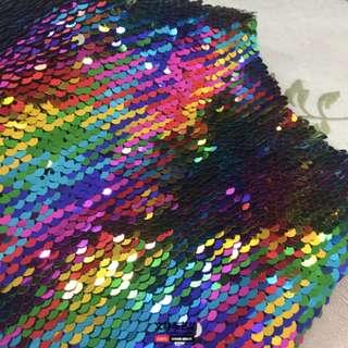 Rainbow Sequin Backdrop