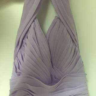 Violet Prom/bridesmaids Dress