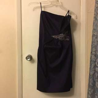 Purple Dress From Le Chateau