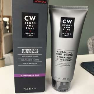CW Beggs And Sons Energizing Moisturizer
