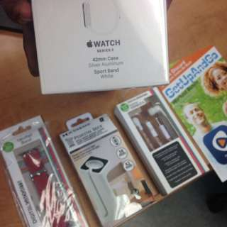 Apple Watch Series 2 42MM + Accessories + Membership Brand New SEALED