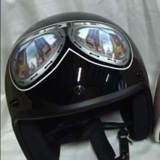 🚚 大風鏡-(騎士帽)
