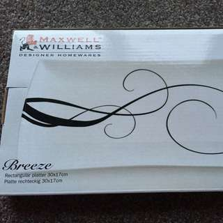 Maxwell And Williams Breeze Small Rectangular Platter