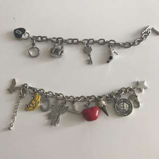 Chain Bracelets With Charms
