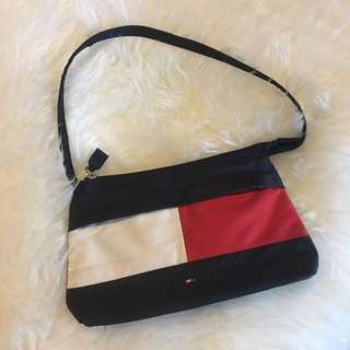 Vintage 90s TOMMY HILFIGER Logo Mini Purse