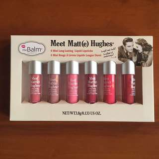 The Balm, Meet Matt(e) Hughes