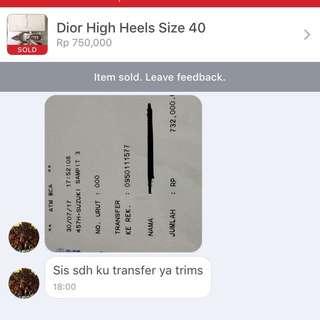 Bukti Transaksi