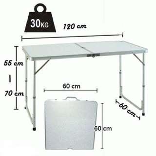 Portable Foldable Aluminium Table For Rent