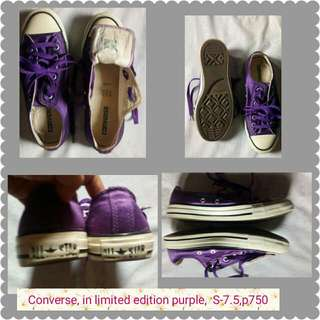 REPRICED {Converse Limited Edition Sneaker}