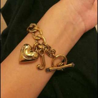 Juicy Courture Gold Tone Bracelet