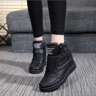 Wedge High Top Shoes
