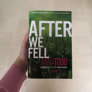 (novel Import) After We Fell By Anna Todd