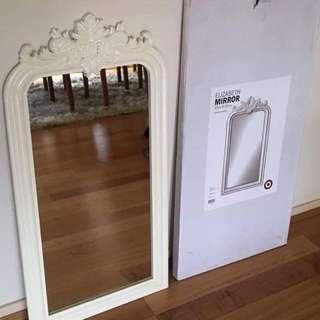 White Elizabeth Mirror