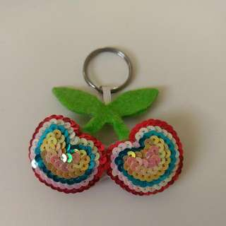 Cherry Keyring Free With Any Purchase