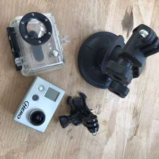 GoPro with Underwater Case