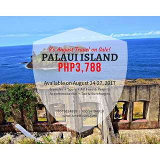 Promo Palaui Island Tour on Aug 24-27!