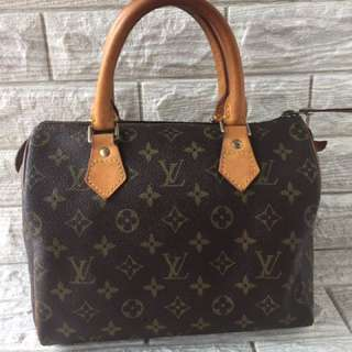 Louis Vuitton Lv Speedy 25 Canvas Monogram