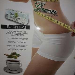 BURN FAT SLIMMING COFFE