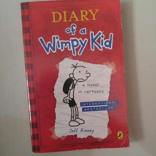 Novel - Diary Of A Wimpy Kid