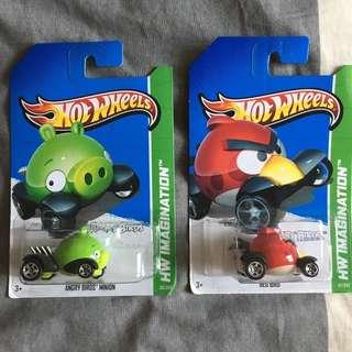 Hotwheels Angry Birds