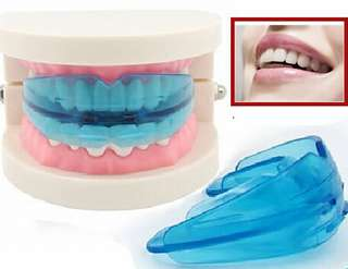 Teeth Mouth Guard Stop Teeth Grinding Clenching Sleep Aid Custom Mold Sleep Solution Mouthpiece Helps with Bruxism