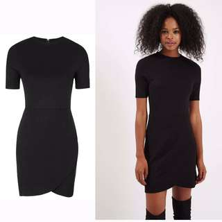 Topshop Wrap Front Dress
