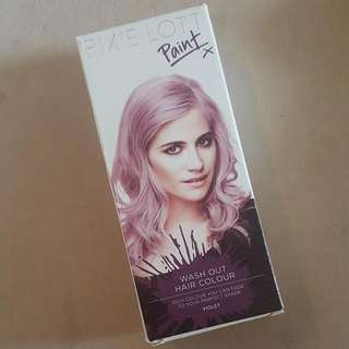 Pixie Lott Violet Hairdye