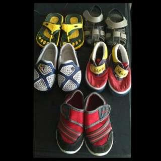 sepatu n sendal uk 23 atau usia 1-3 thn